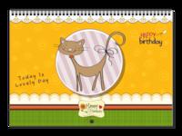 可爱小猫咪-A3横款挂历