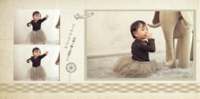 甜心宝贝-8x8PU照片书NewLife(绒照片纸)