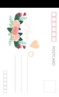 浪漫的爱情 爱的花嫁 美丽的婚礼-全景明信片(竖款)套装
