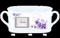 浪漫梦幻印花(小清新)小紫-骨瓷白杯