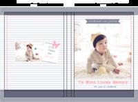 韩式爱的记忆童年时光故事 happy day-硬壳精装照片书20p