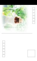 朦胧的感觉-全景明信片(竖款)套装