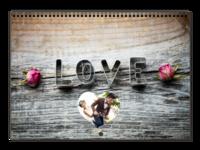 我们的爱-唯美浪漫爱情-挚爱一生-A3横款挂历