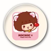 情侣配可爱摩丝+温柔仔仔-4.4个性徽章