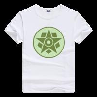 麦田圈图案之五边形与五角星男款莫代尔T恤