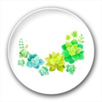 淡雅花儿-4.4个性徽章