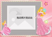 爱丽儿公主(睡美人)_女孩喜欢的公主-彩边拍立得横款(6张P)