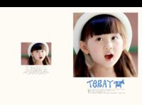 阳光Teray歪歪酷酷YYOJa801最新儿童相册模板-硬壳精装照片书80p