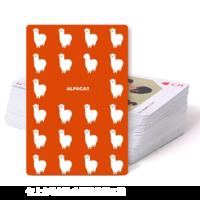可爱羊驼-双面定制扑克牌