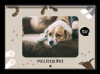 我家的小宠物-样片可换-A3横款挂历