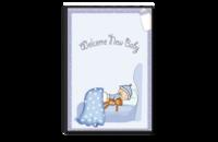 宝贝的快乐童年-8x12单面银盐水晶照片书