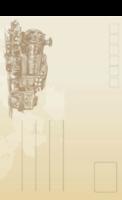 复古火车-全景明信片(竖款)套装