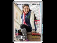 【万能版】您的写真集-全页预览照片可换-(不换照片为angelababy写真集)唯美升级版-A4时尚杂志册(24p)