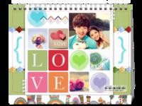 我们的爱(封面图片可替换)-8寸单面印刷台历