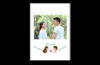 【她和他】我们的故事 送男友送女友 周年纪念-8x12印刷单面水晶照片书20p