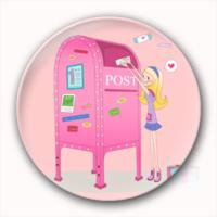 青春 粉红色的人生-4.4个性徽章