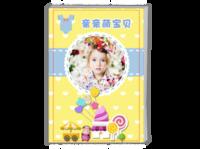亲亲萌宝贝--可爱系列-A4时尚杂志册(24p)