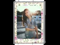 个人写真 通用 影楼 纪念 照片可替换-A4时尚杂志册(24p)