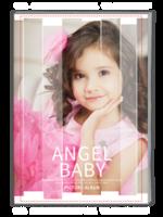 纯美世界-杂志风格-可爱宝宝女生个人写真-A4杂志册(32P)