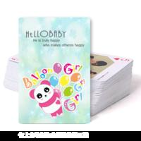 粉色熊猫-双面定制扑克牌
