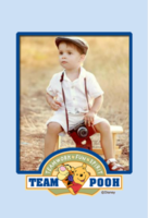 欢乐迪斯尼维尼熊和他的朋友们-卡通宝宝亲子-定制lomo卡套装(25张)