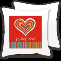 创意礼物:爱的表白-情侣抱枕