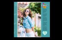 你的时尚写真集-8x8印刷单面水晶照片书