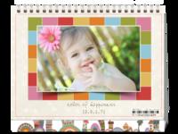 sweet宝贝☆happiness-8寸双面印刷台历