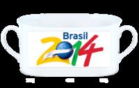 2014巴西世界杯-骨瓷白杯