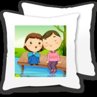 牵手的幸福-情侣抱枕