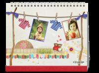 成长的味道-卡哇伊设计-宝贝写真、生活照、校园生活最值得纪念-10寸单面印刷台历