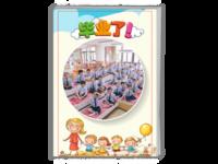 儿童毕业季-卡通-毕业啦#-A4时尚杂志册(26p)