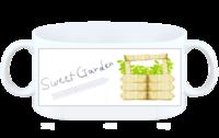 高端特制绿色甜美花园系列-白杯