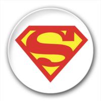 超人 徽章-7.5个性徽章
