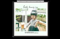宝贝成长温馨记忆 休闲时刻 奶茶时光-8x8单面银盐水晶照片书