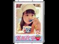 草莓姑娘 小可爱 (照片可换)-A4时尚杂志册(24p)
