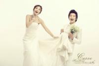 怦然心动-情侣、爱情、婚纱(装饰可移动、图片可换)-24寸木版画横款
