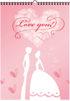 love   you-A3双月挂历