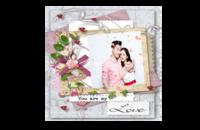 精致时尚你是我的爱(结婚 爱情 情侣 朋友 礼物)-8x8印刷单面水晶照片书21P