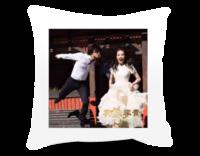 浪漫一生(图中人物照片可替换)-短皮绒面双面抱枕