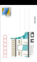 异国风情旅行系列九个国家九张各不同-全景明信片(竖款)套装