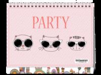 PARTY#-8寸单面印刷台历