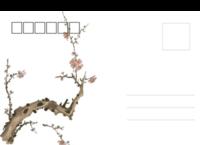梅花-全景明信片(横款)套装