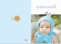 宝宝成长纪念册-A3硬壳蝴蝶装照片书24P