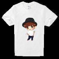 卡通han高档白色T恤