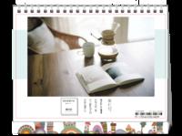 旅行记(照片可换HS台历)-8寸双面印刷台历