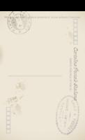 欧式复古简约明信片-全景明信片(竖款)套装