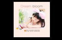 盛开的梦想(清新大气记录宝贝的成长)-8x8印刷单面水晶照片书