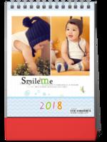 微笑瞬间 最新韩式儿童模板1009萌宝童年记忆-8寸竖款单面台历