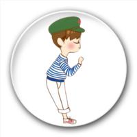 小情侣(男)-5.8个性徽章